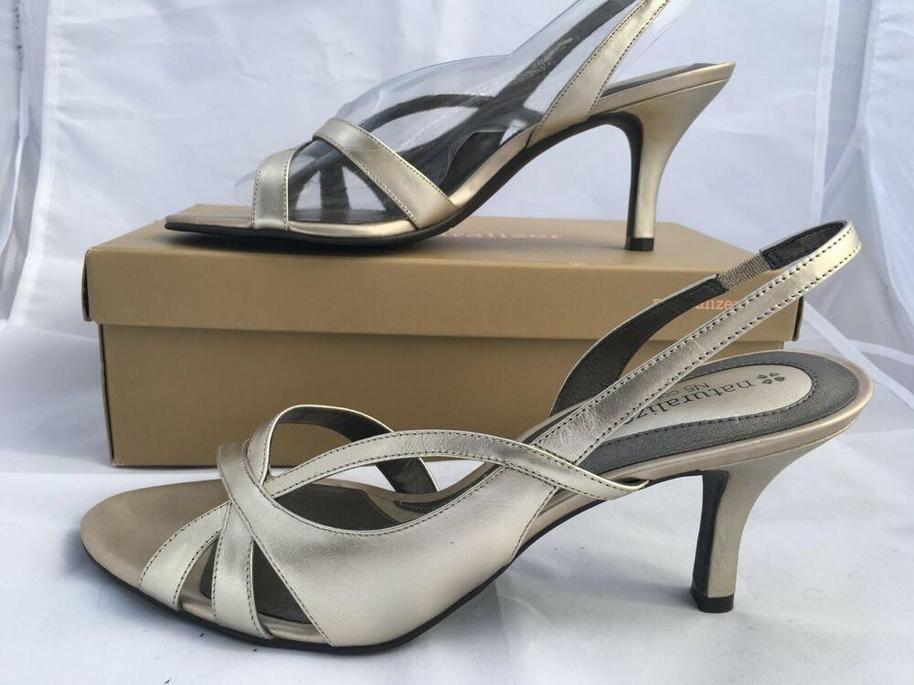 47aef412255 Details about NATURALIZER PRISSY open toe open 2