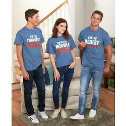 Kyпить Youngest, Middle, Oldest T-Shirts на еВаy.соm