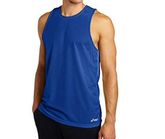 a5f18c9d0f Details about New ASICS Men's Ready Set Tank Top - Air Force Blue - X-Small  - Free Shipping!