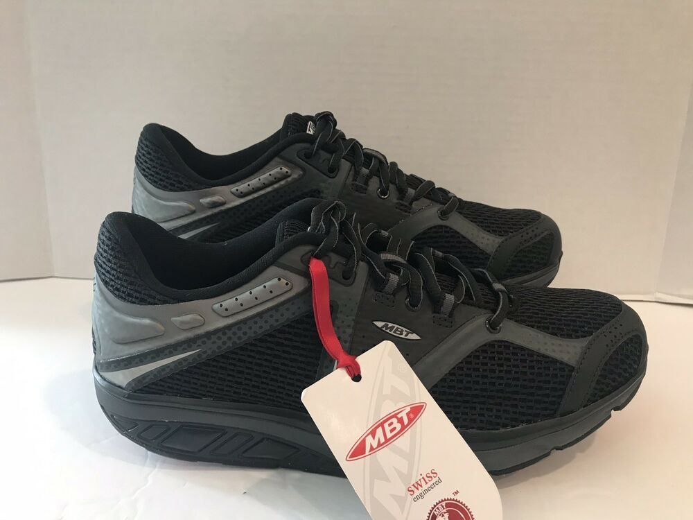 157f5a8fa26d Details about MBT Simba Black Granite Endurance Running Shoes Men Size 7-7.5