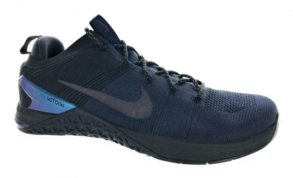 quality design b37e9 889aa Details about Men s Nike Metcon DSX Flyknit 2 AMP Cross Training Shoes  AV3839-400 Navy Size 14