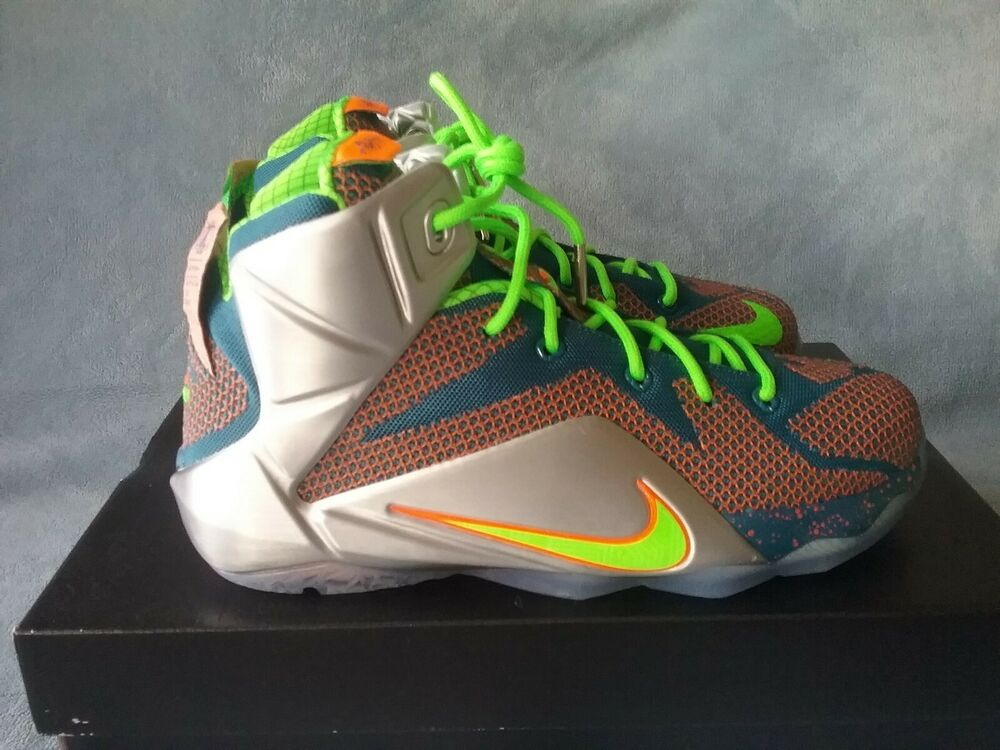 d0db64527b0e4 Details about Nike LeBron XII 12 GS Trillion Dollar Man 685181-430 Size  6.5Y Women s 8