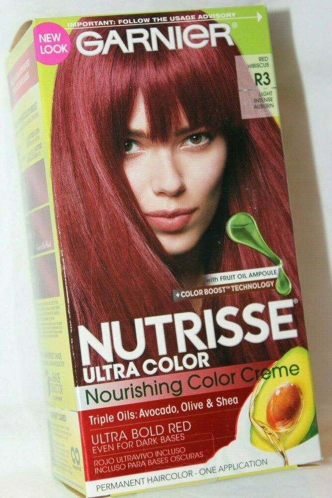 Garnier Nutrisse Creme Haircolor R3 Red Hibiscus Light Intense