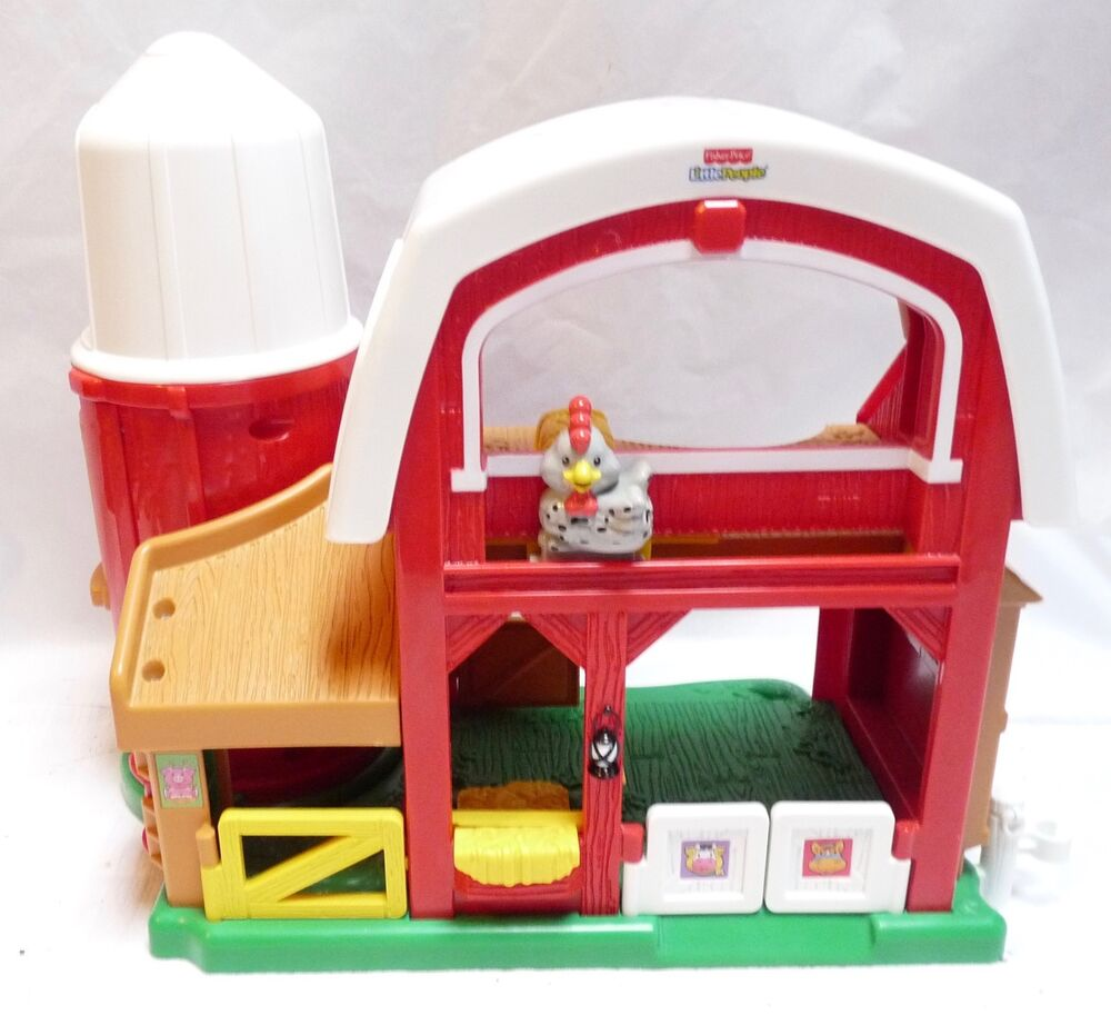 Fisher Price Little People Touch & Feel Animal Sounds Farm ...