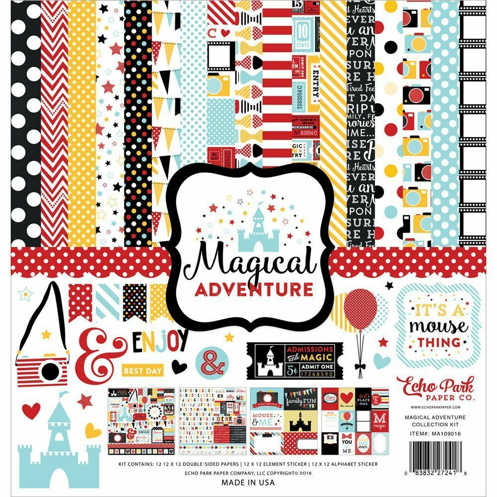 UPC 752830000179 product image for Echo Park Paper Co. 12 X 12 Paper Magical Adventure Collection Kit | upcitemdb.com