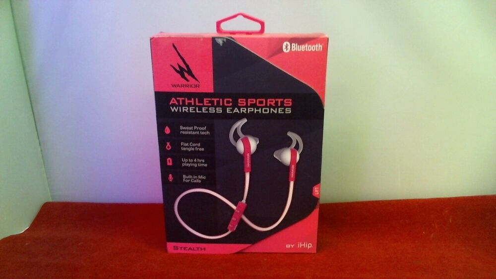 74a8003d6c7 iHip Athletic Sports Wireless Earphones - pink 659436673632 | eBay