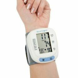 Kyпить Automatic Wrist Blood Pressure Monitor Heart Rate BP Meter Tester with Memory на еВаy.соm