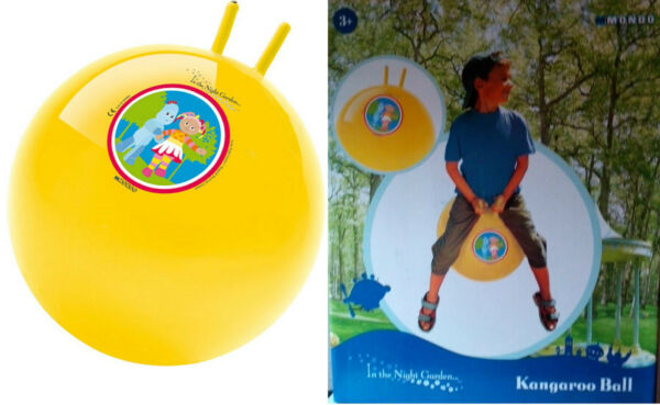 BALLON SAUTEUR In The Night Garden / Mondo - Diam : 50 cm - NEUF sous emballage