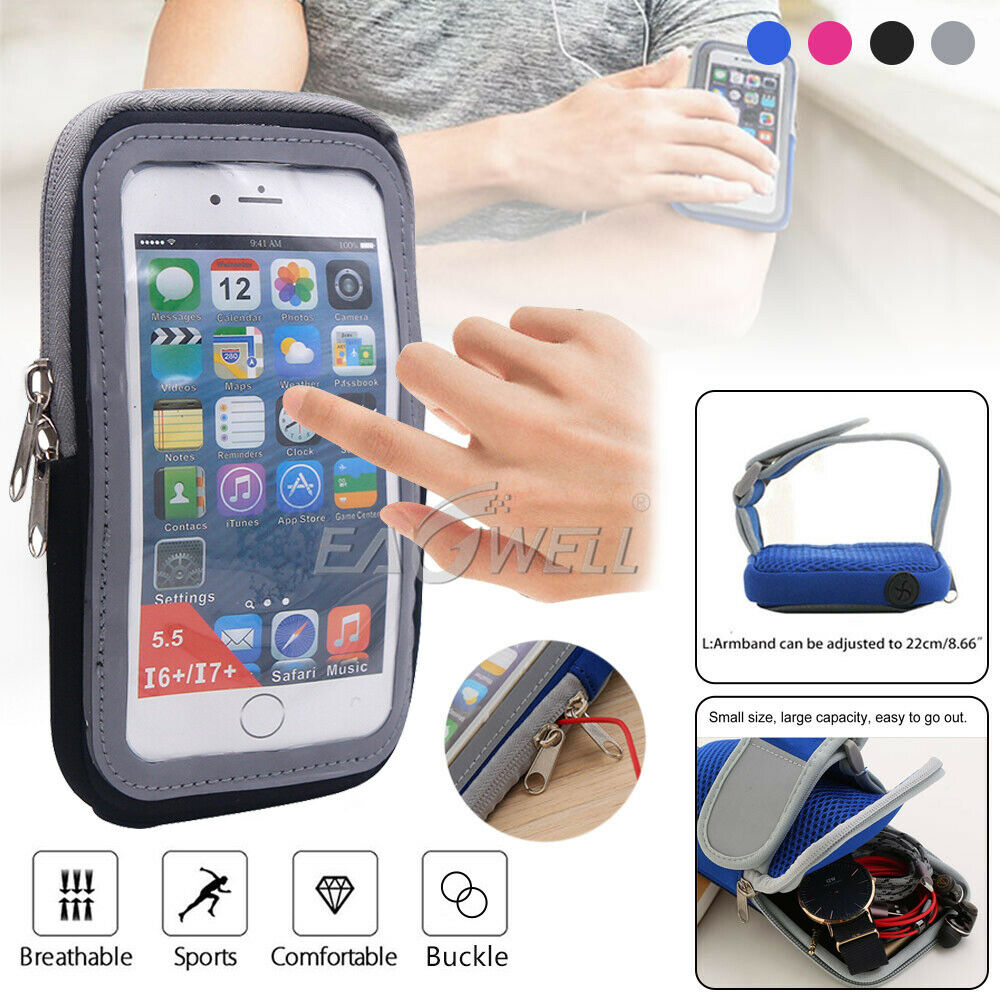 Sports Outdoor Running Waist Phone Case Earphone Hole Belt Running Wallet Bags And Card Holder New 2018 100% Original Security & Protection