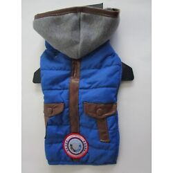 Dog Pet Luv Gear Puffer Jacket X Small Coat with COLD ALERT NEW Winter Clothes