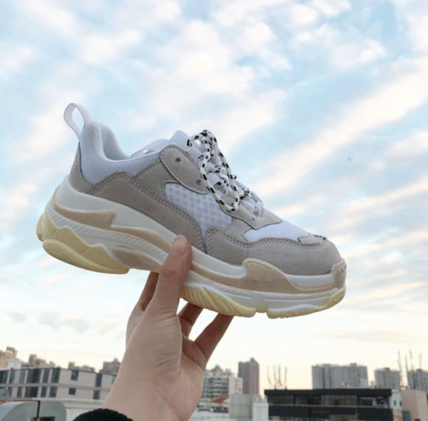 Baskets Sneakers Chunky triple ugly tendance 2019 Homme femme S women pas cher