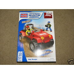 Kyпить SUPER MEGA BLOKS Jeep Wrangler building set - 123 pcs - ages 5 and up на еВаy.соm