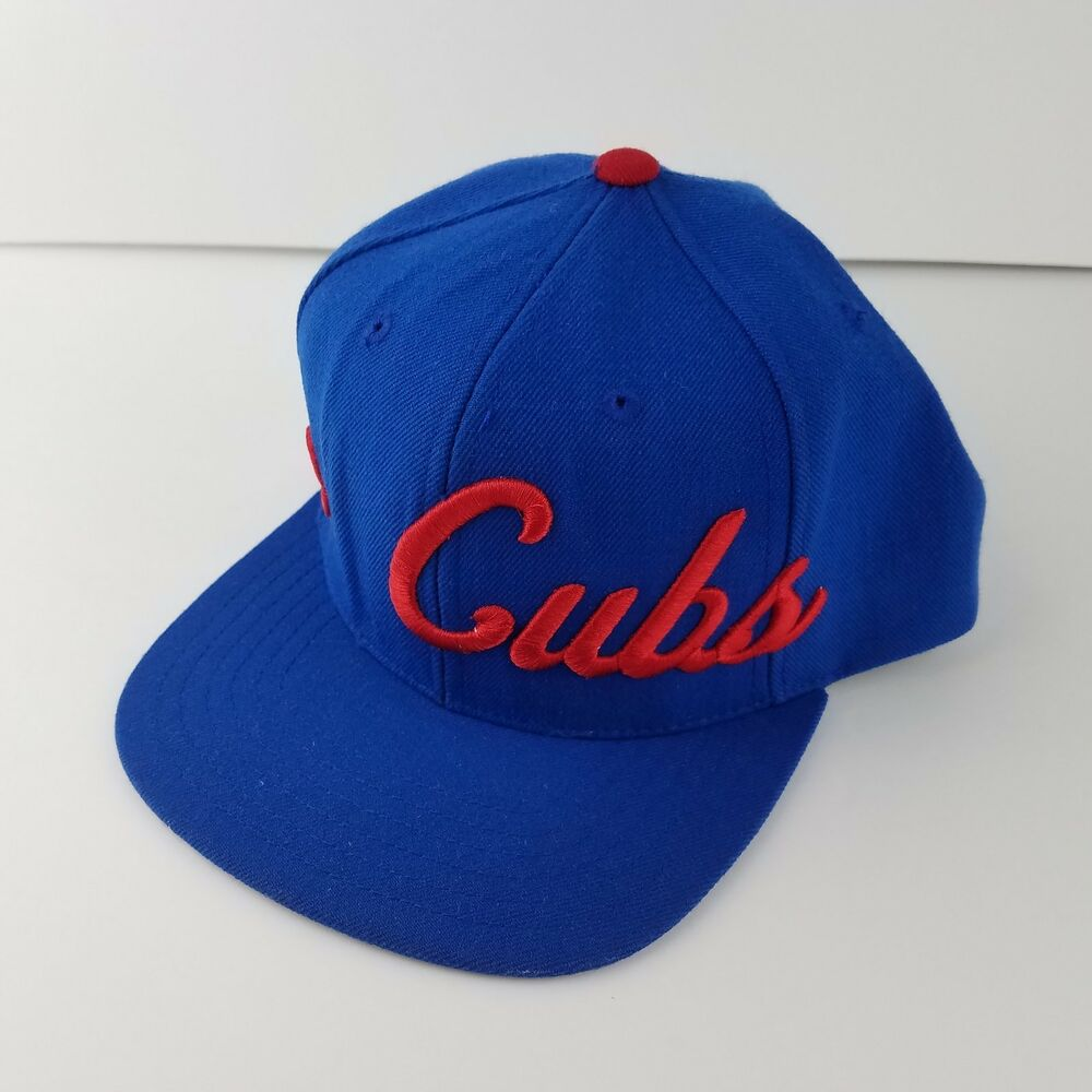0e77e3c63c6024 Details about American Needle 1918 Chicago Cubs Cooperstown Collection  Snapback Baseball Hat