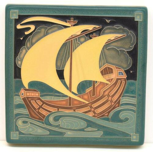 6x6 Arts & Crafts Galleon Tile by Arts and Craftsman Tileworks