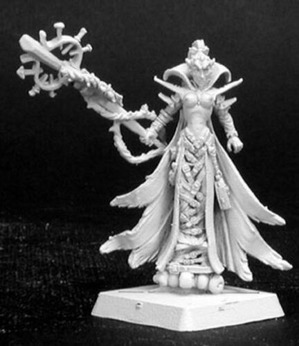 1 x THUUSIA PAIN MAGE - WARLORD REAPER miniature figurine rpg jdr magicien 14088