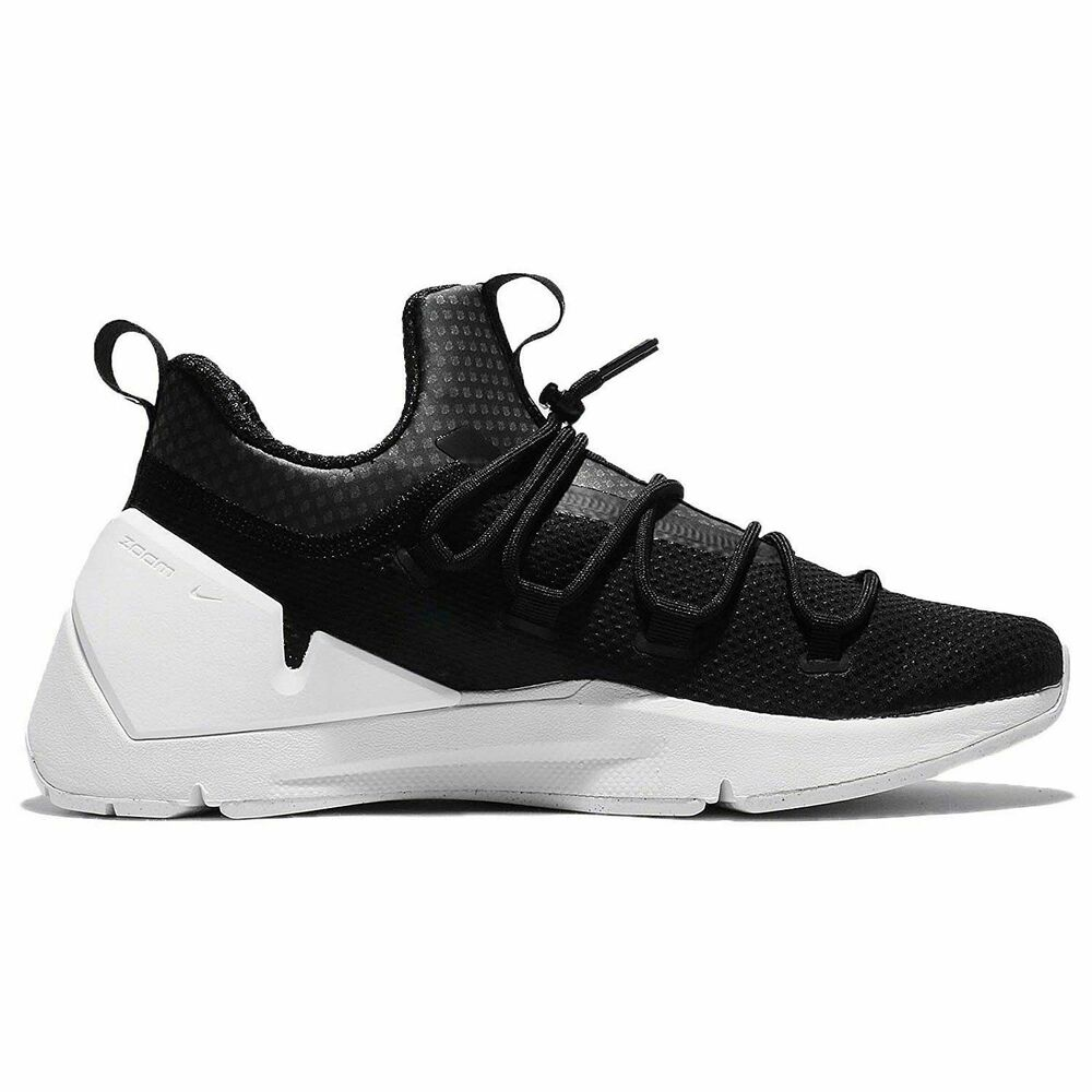 save off a9548 8d35e Details about Nike Air Zoom Grade New Men s 924465 001 Black Running Shoes