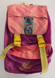 cf4ace8b86 Zaino Invicta jolly top fluo vintage backpack bag anni '90 zainetto vin28