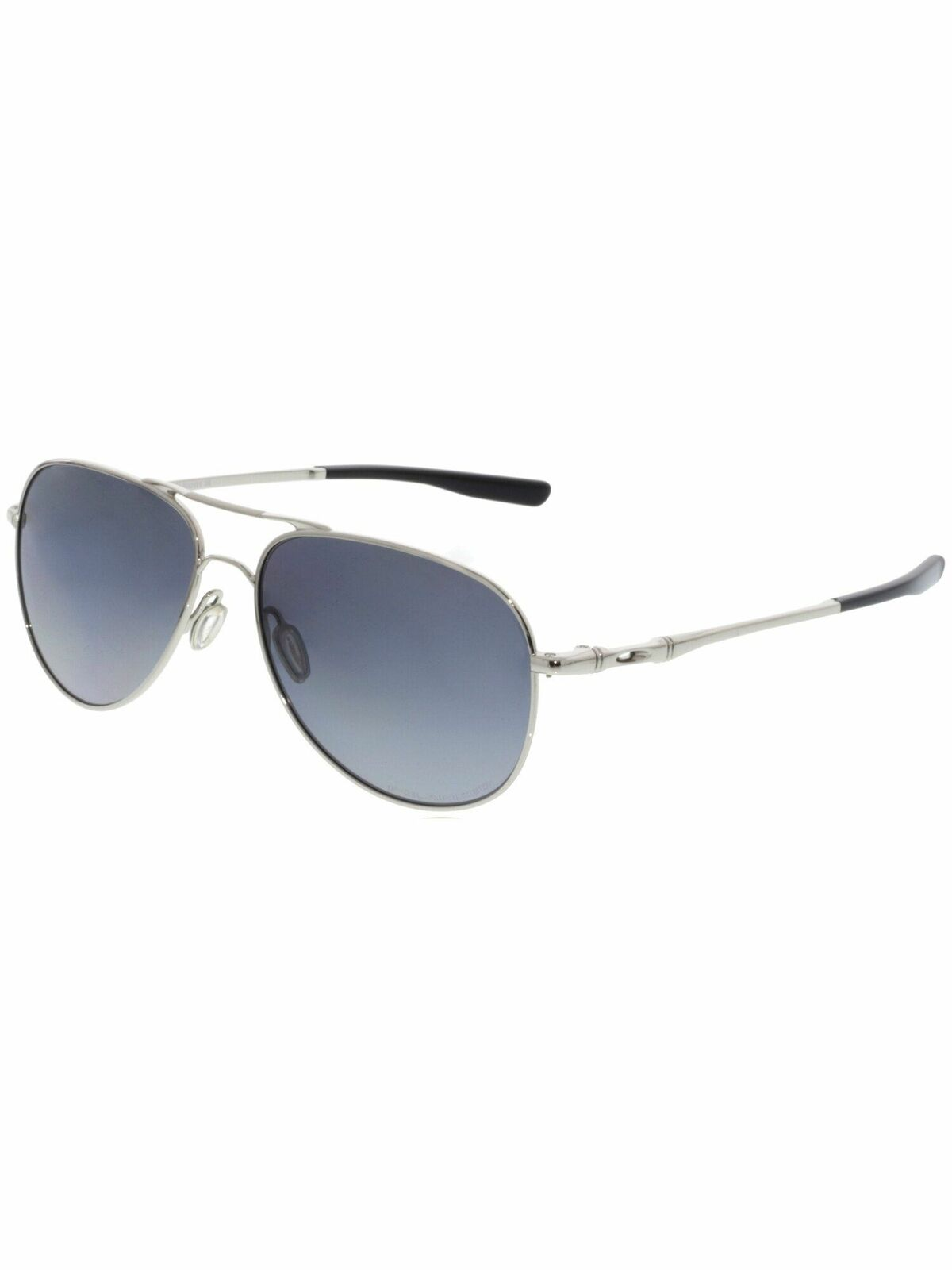 d47577db1c5b7 ... Grey Lens Polarized UPC 888392239440 product image for Oakley Oo4119-0258  Elmont Medium Polished Chrome  Polarized Aviator