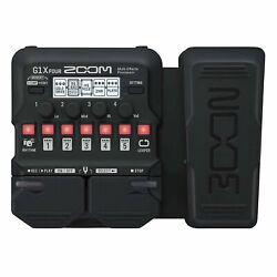 Zoom G1X Four Guitar Effects Processor with Built-In Expression Pedal
