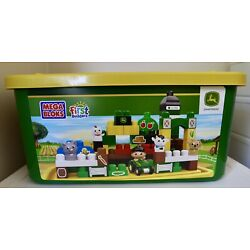 Kyпить NEW Mega Bloks CXN88 First Builders John Deere Big Barnyard Set. SHIPS For LESS на еВаy.соm