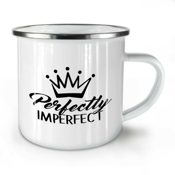 Royaume-Uni Imperfect NEW Enamel Tea Mug 10 oz | Wellcoda