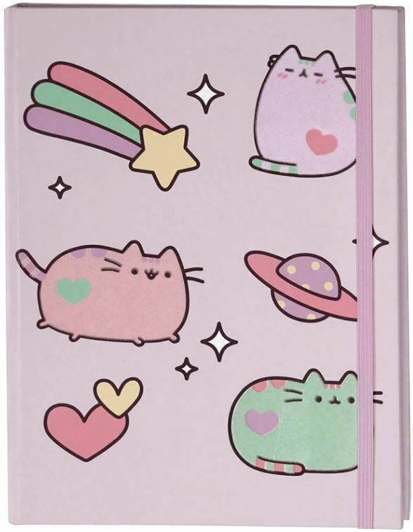 UPC 028399102860 product image for Pusheen The Cat - Hardcover Bound Lined Journal - Pastel Shades | upcitemdb.com