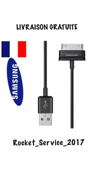 USB DATA CABLE CHARGER ORIGINAL SAMSUNG GALAXY TAB 2 10.1 ..