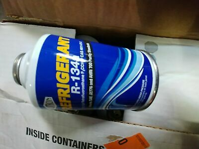 R-134a Refrigerant 12oz can 3 can minimum order 134a r134 r134a  self seal