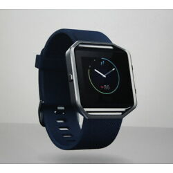 STORE MODEL Fitbit Blaze Smart Fitness Watch All Day Activity Tracker Blue Small