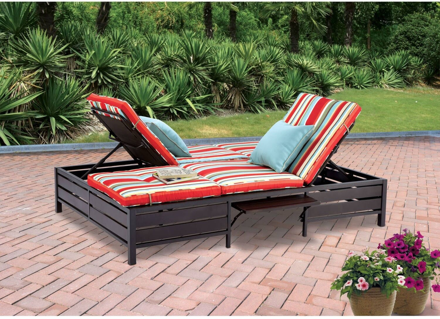Upc 667930223734 Mainstays Double Chaise Lounger Stripe