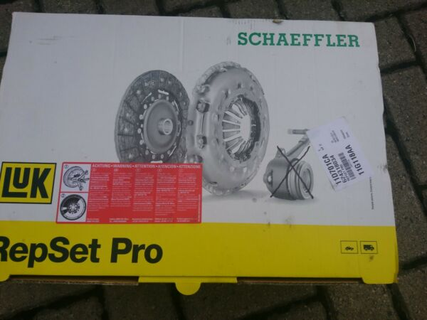 Cover+Plate+CSC Clutch Kit 3pc 240mm 624347634 LuK Genuine Quality Replacement