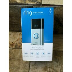 Kyпить Ring Wi-Fi Enabled Video Doorbell in Satin Nickel, w/ Alexa 1 Year Warranty! на еВаy.соm