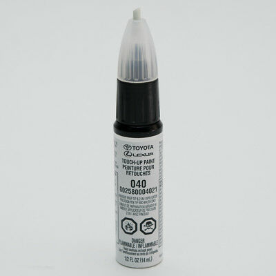 Toyota Touch-Up Paint 040 White : 00258-00040-21