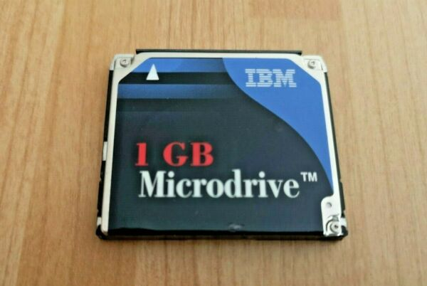 IBM 1GB Microdrive CF+ Type II DSCM-11000 Memory Card FREEPOST UK