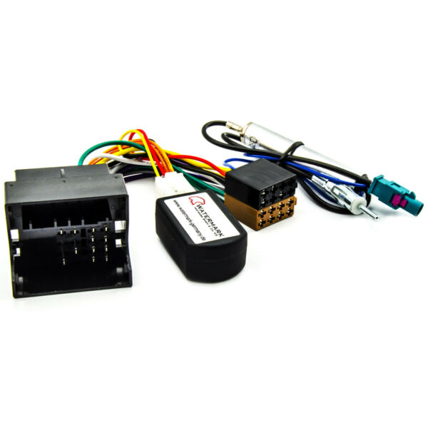 CAN-Bus Interface Peugeot 207 307 407 4007 Phantomeinspeisung Antenne Fakra-ISO