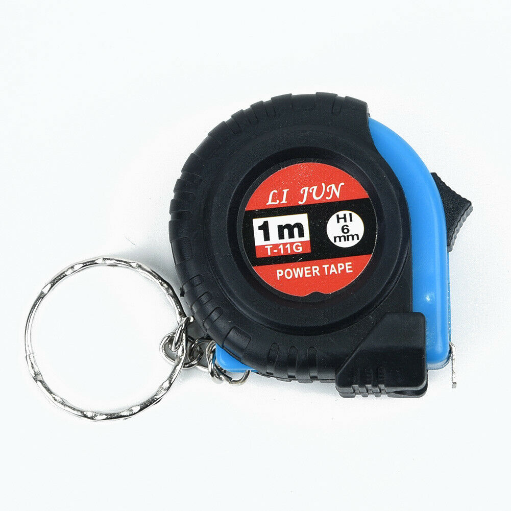 Details about  /Tape Measure Retractable Ruler Tools Measuring Tapes With Belt Clip Portable