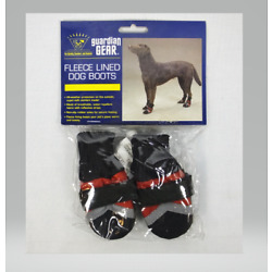 Guardian Gear Dog Puppy Boots Paw Shoes Red/Black Reflective NEW with Tags