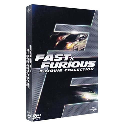 Box *** FAST AND FURIOUS - 7 Film Collection (7 Dvd) *** sigillato