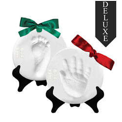 Kyпить Proud Baby DELUXE Air Dry Clay Hand Print & Footprint Keepsake Ornament Kit на еВаy.соm