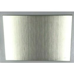 HIGH QUALITY NICKEL SILVER SHEET - 150 x 105 x1 MM - PERFECT FOR JEWELLERY