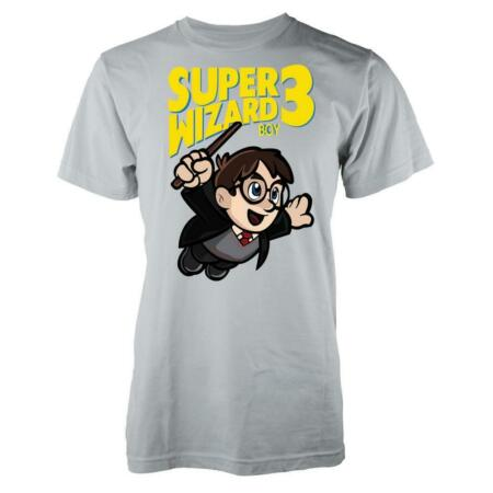 img-Super Wizard Mario Harry Potter Mash Up Gaming Adult T Shirt