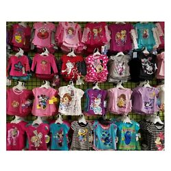 Kyпить Shirt t Lot New Wholesale Girl Tops Tee Clothes 6 and 12 Baby Toddler Gift Pack на еВаy.соm