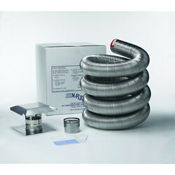 Kyпить Stainless Steel Flexible Basic Chimney Liner Kits, Available in Various sizes на еВаy.соm