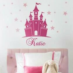 Princess Castle Wall Decal with Personalized Name