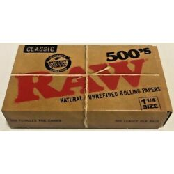 Kyпить Raw Classic Natural Unrefined 500 Pack Cigarette Rolling Papers**Free Shipping** на еВаy.соm