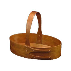 Shaker #4 Fixed Handle Carrier in Cherry, Lacquer Finish