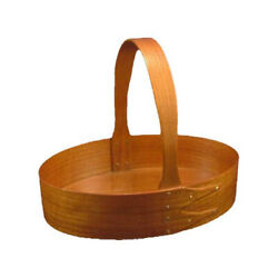 Shaker #5 Fixed Handle Carrier in Cherry, Lacquer Finish