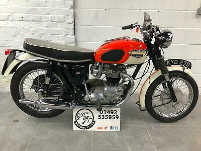 1967 Triumph T120R Bonneville T120 R beautifully restored example, Bonne