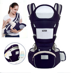 Kyпить Ergonomic Baby Carrier Infant Baby Hipseat Carrier Front Facing Kangaroo Cotton на еВаy.соm