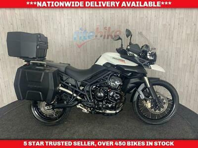 TRIUMPH TIGER 800 XC ABS FULL LUGGAGE 12 MONTHS MOT 2014 14